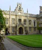 Sidney Sussex College Chapel Court.